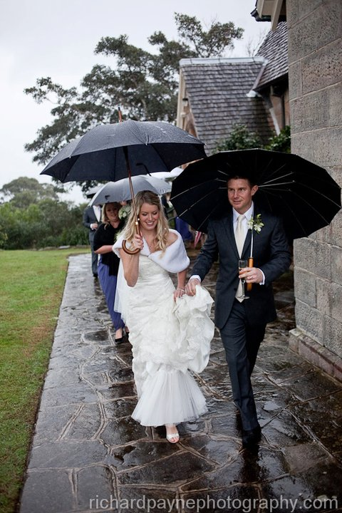 Victoria and Daniel get married at Watsons Bay