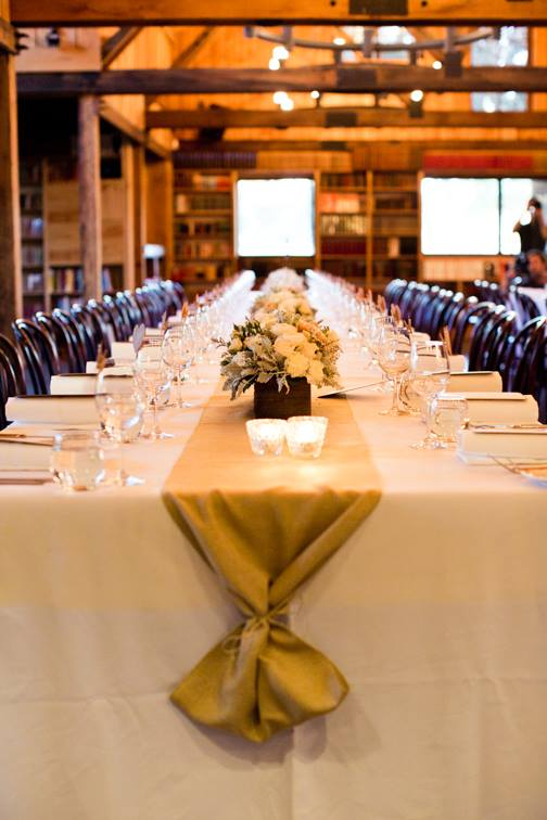 Bendooley Estate Guest Table