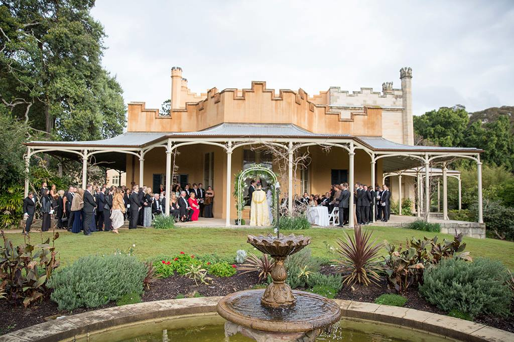 Vaucluse House Wet Weather Ceremony