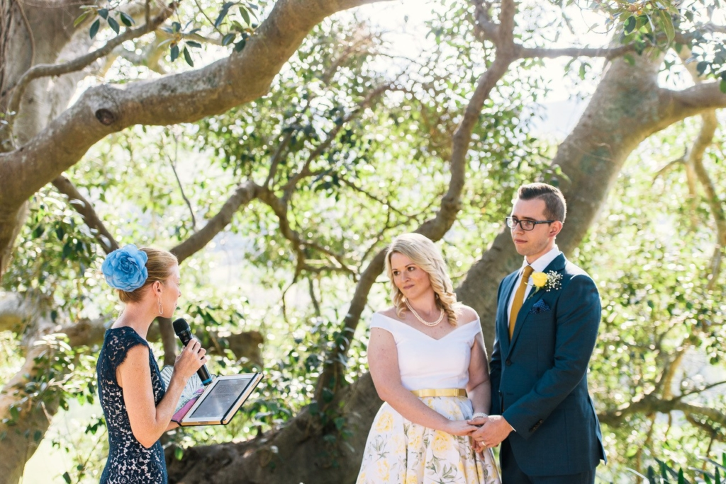 It sounds silly, but a great celebrant knows when to stand to the side of the couple to make a great shot for the photographer.