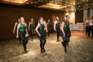 Irish dancers for wedding at ZEST