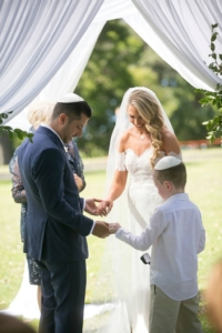 Wedding Chuppah Page Boy