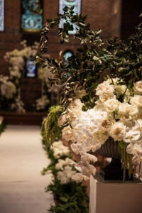 Orchids Roses at Mosman Art Gallery Wedding Ceremony