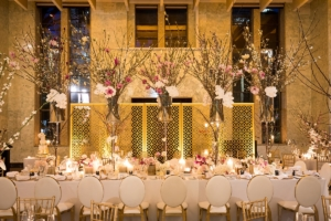 Wedding Head Table at MCA Foundation Hall